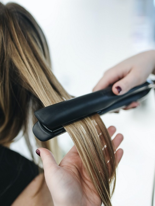 Healthy Hair After Heat Damage Iron