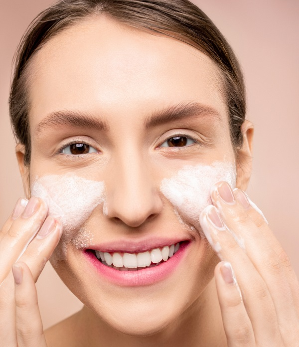 skin care routine for glowing skin wash